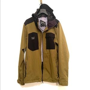 [Armada] Green/Black Hooded Jacket - Size XL